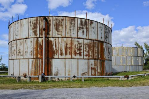 Hydrocarbon Tank; Corroded Structure