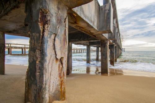 Jetty Piles; Degraded Concrete Piles