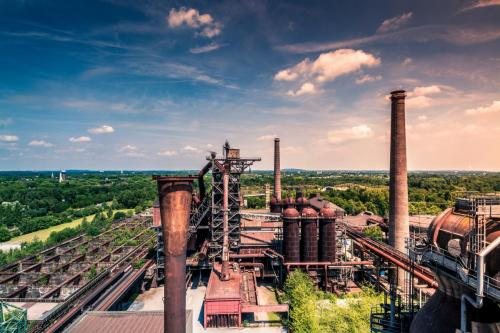Chemical Plant; Deteriorated Steel Towers
